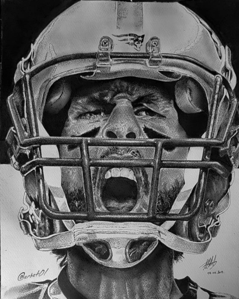 Tom Brady by art-bat